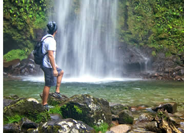 In around Boquete you'll find many waterfall hikes